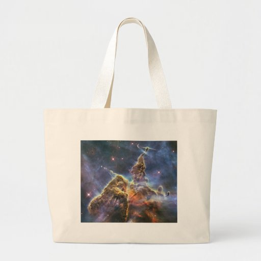 Mystic Mountain Large Tote Bag