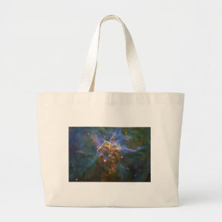 Mystic Mountain of Rising Gas in the Carina Nebula Canvas Bags