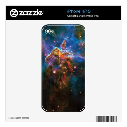 Mystic Mountain iPhone 4 Decal