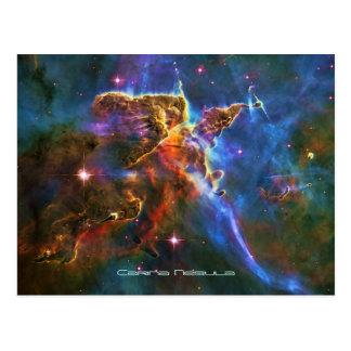 Mystic Mountains - Carina Nebula Postcard