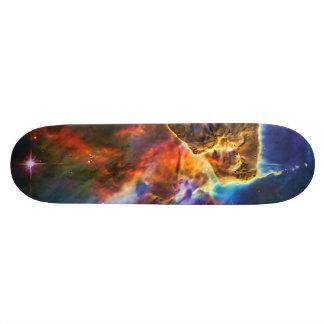 Mystic Mountains - Carina Nebula Skateboard