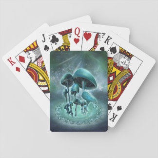 Mystic Mushrooms Playing Cards