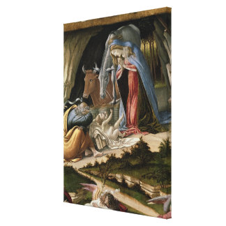 Mystic Nativity, 1500 Canvas Print