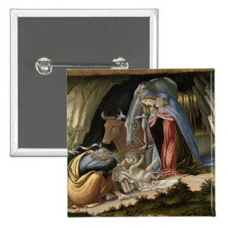 Mystic Nativity, 1500 Pinback Button