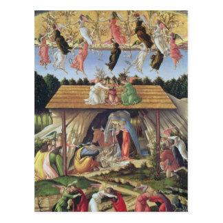 Mystic Nativity, 1500 Postcard