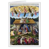 Mystic Nativity by Sandro Botticelli Card