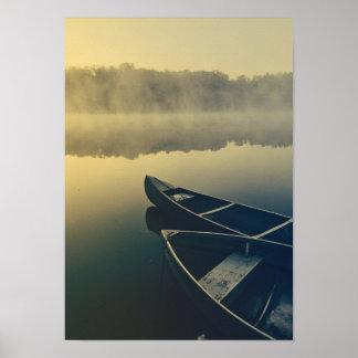 Mystic Nature Lake Elegant Photo Romantic Water Poster