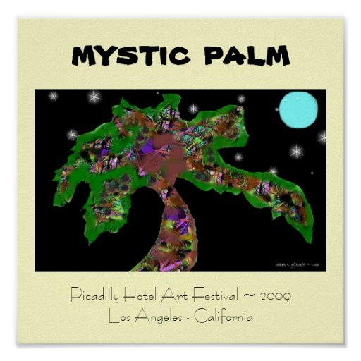 MYSTIC PALM POSTER