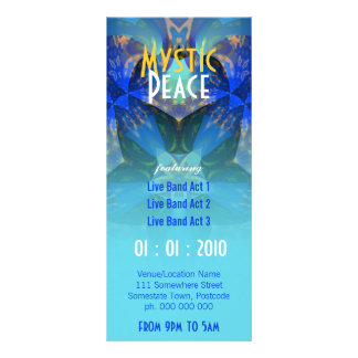 Mystic Peace Event Flyer Full Color Rack Card