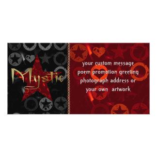 Mystic Customized Photo Card
