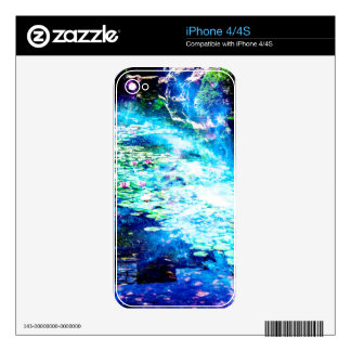 Mystic Pond Decals For The iPhone 4S