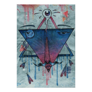 Mystic Pyramid Poster