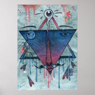 Mystic Pyramid Print