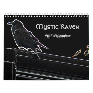 Mystic Raven 2013 Calendar