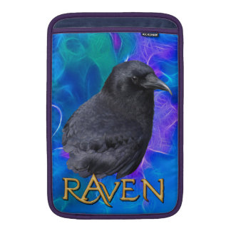 Mystic Raven Portrait Celtic Pagan Art MacBook Air Sleeve