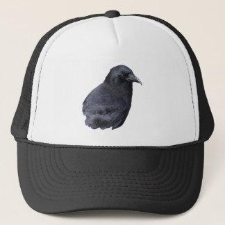 Mystic Raven Portrait Celtic Pagan Art Trucker Hat