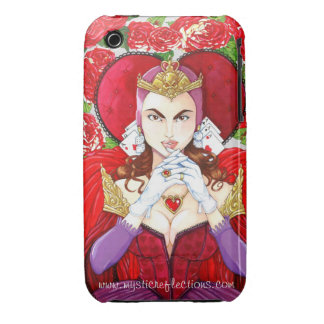 Mystic Reflections Red Queen Phone Case