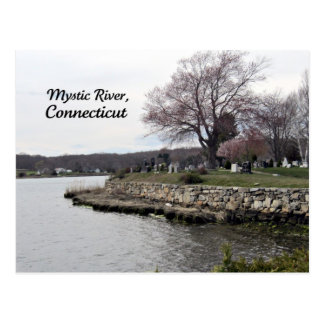 Mystic River, Connecticut Postcard