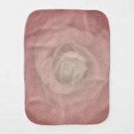 Mystic Rose - Faded Vintage - Coral Shell Burp Cloths (<em>$14.95</em>)