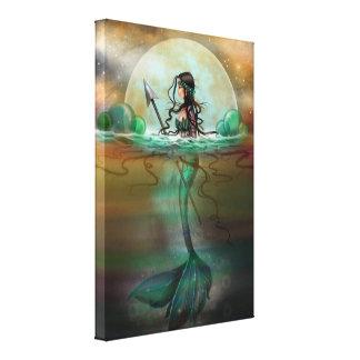 Mystic Sea Mermaid Fantasy Art by Molly Harrison Gallery Wrap Canvas