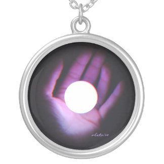 Mystic Sight Silver Plated Necklace
