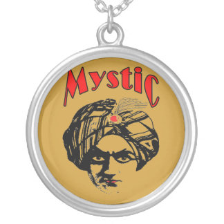 Mystic Silver Plated Necklace