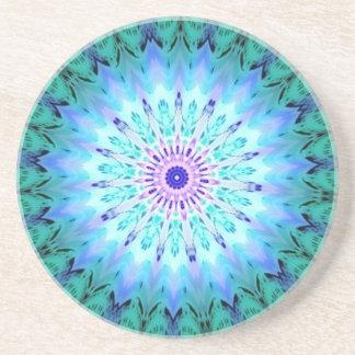 Mystic Singing Crystal Kaleidoscope Beverage Coaster