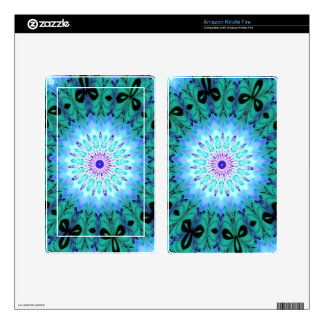 Mystic Singing Crystal Kaleidoscope Decal For Kindle Fire