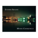 Mystic  Skyline Post Card