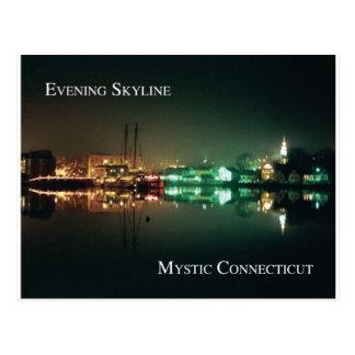 Mystic  Skyline Post Card