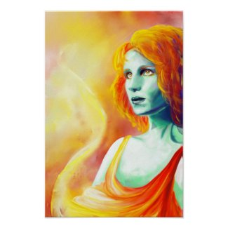 Mystic - Sun Worship print