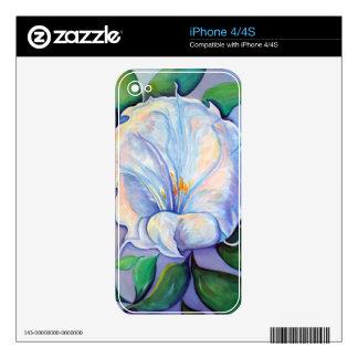 Mystic Sunkissed Moonflower iPhone 4 Decals