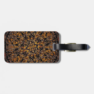 Mystic Symbol Artwork Travel Bag Tags