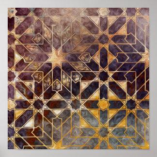 Mystic Tiles I Poster