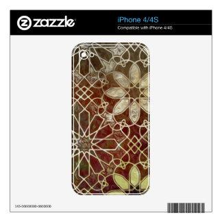 Mystic Tiles II iPhone 4 Decal