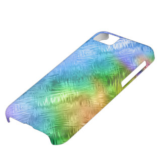 Mystic Topaz Blue Glassy Texture iPhone 5C Cover