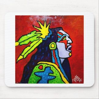 Mystic Warrior # 1 by Piliero Mouse Pad