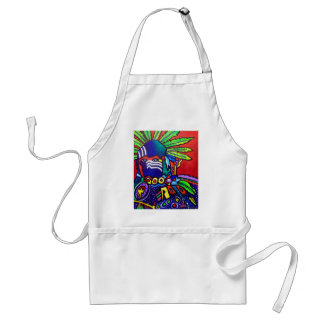 Mystic Warrior # 46 by Piliero Adult Apron