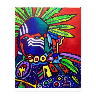 Mystic Warrior # 46 by Piliero Postcard