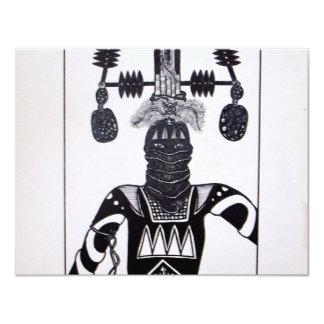 Mystic Warrior 4 by Piliero Card