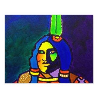 Mystic Warrior o-11 Card