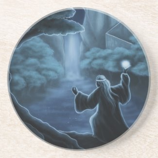 mystic waters fantasy beverage coasters