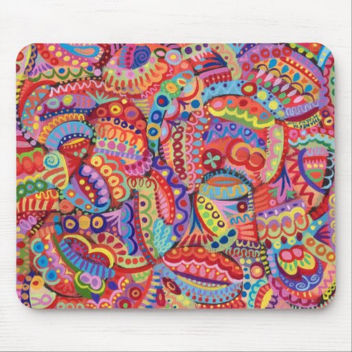 Mystical Abstract Mousepad