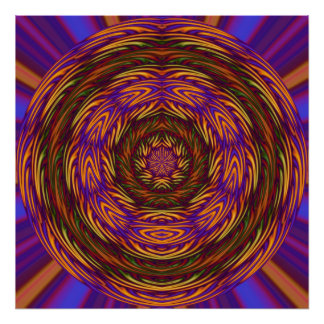 Mystical Abstract Print