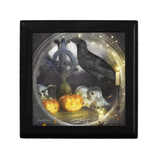 Mystical and Magical Raven Jewelry Keepsake Box