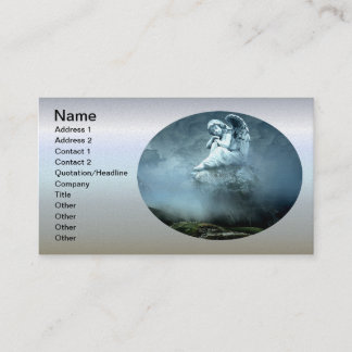 Mystical Angel on Mountain Business Card