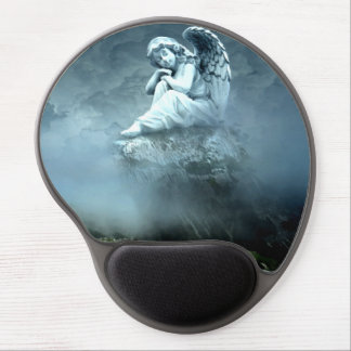 Mystical Angel on Mountain Gel Mouse Pad
