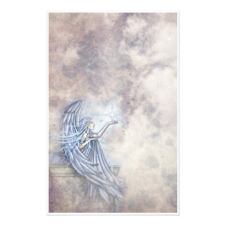 Mystical Angel with Star Stationary Stationery