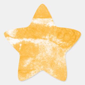Mystical Asian Artifact Star Sticker