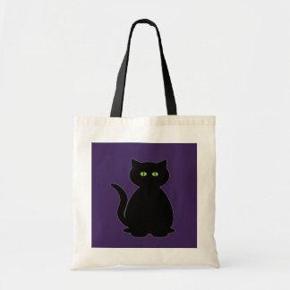 Mystical Black Cat Bag